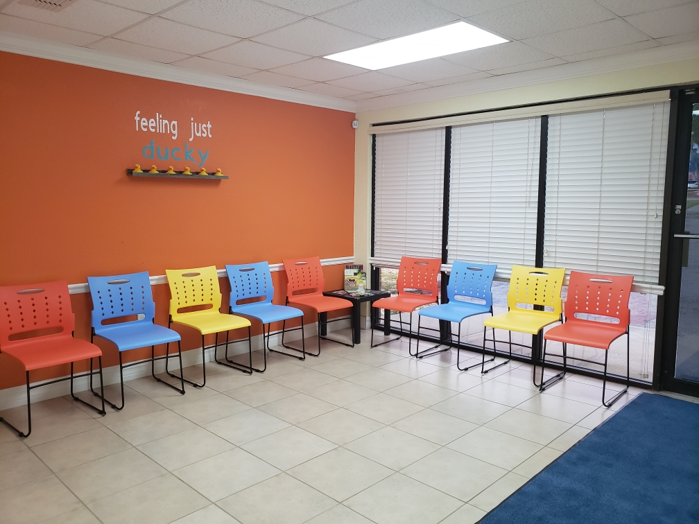 Spring Hill Pediatric Care Waiting Room With Chairs